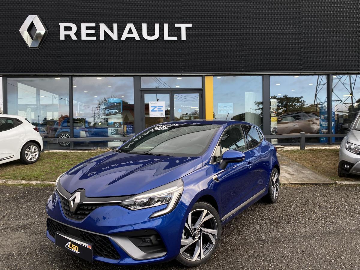 RENAULT-CLIO-Clio V BERLINE RS Line 1.6 E-TECH Hybride 140 BVA multi-modes